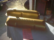 1958-1964 Ford 352-427 Painted Gold Factory Thunderbird Valve Covers Galaxie