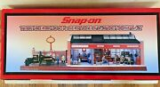 Snap On Thundering 30andrsquos Garage Diorama 124. Rare And New. Cars Not Included