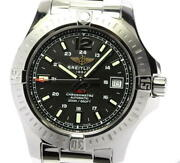 Breitling Colt 41 A17313 Black Dial Automatic Menand039s Watch_542651