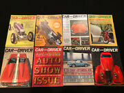 1961 Car And Driver Magazine Lot - Excellent Condition- Rare See Pics