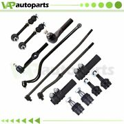 For Dodge Ram 2500 3500 13pcs Front Ball Joints Sway Bars Tie Rods Steering Part