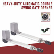 Electric Motor Auto Dual Swing Gate Openers For Driveway Fence Gate