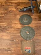 50nmtb Slitting Saw Arbor And Saw Lot - Item 1098