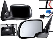 For 2003 - 2007 Gm Pickup Truck Mirror Power Folding Signal Puddle Driver Side