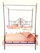 Charles P. Rogers Alexandria Queen Canopy Brass Bed / Daybed 1799