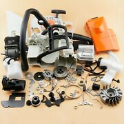 Complete Repair Parts Compatible With Stihl Ms180 018 Engine Motor Crankcase