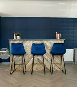 Pallet Counter Bar Reclaimed Rustic Industrial Office Cafe Restaurant Pub Fitout