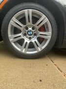 Bmw 335i Set Of 17 Inch Oem M-sport Wheels And Tires