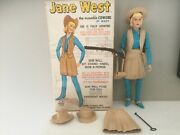 Vintage Marx Jane West 2067, Doll, Box And 15 Accessories, Very Good Condition