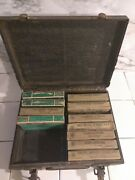 Pre Wwii Ww2 Msa Mine Safety First Aid Kit Bandage Self Healing Kit Box Contents