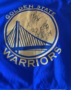 Warriors Signed Jersey Curry Durant Bell And Cook Psa Coa Full Letter