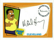 Mike Henry As Cleveland Brown Inkworks Family Guy Season 1 Autograph Card A4