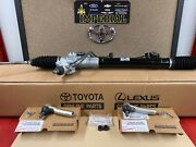 2005-2011 Toyota Tacoma Genuine Oem Power Steering Rack Gear And Outer Tie Rods