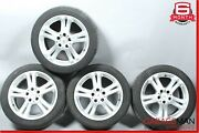 03-09 Mercedes W211 E350 Complete Front And Rear Wheel Tire Rim Set R17 Oem