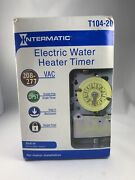 Intermatic Electric Water Heater Timer- T104-20 Includes Timer And Metal Box