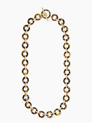 Kate Spade Out Of Her Shell Necklace Nwt Classic Tortoise Shell Links Perfection