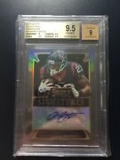 2014 Select Black Prizm Arian Foster Auto 1/1 Bgs 9.5 Texans