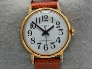Vintage 31mm Timex Womenand039s Gold Wrist Watch Watches Women Ladies Water Resistant