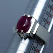 Real Dark Blood Red Ruby From Afghanistan Qandhar Ruby Ring Anari Yaqoot Ring