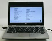 Hp Elitebook 2570p 12 Laptop Core I5 2.6ghz 2gb No Hdd Battery Read