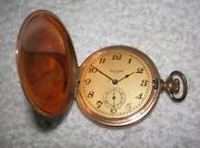 Antique Waltham Fattorini Ford And Galloway Gold Silver Hunter And Half Hunter