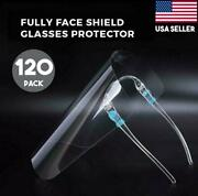 Safety Face Shield Protection Cover Guard Reusable Glasses Non-medic Pack Of 120