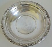 Vintage Reed And Barton Solid Sterling Silver Plate, Burgundy 9.5 250 Grams X745