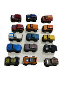 15 Vintage Assorted Mcdonaldand039s Happy Meal Stomper Mini 4x4and039s