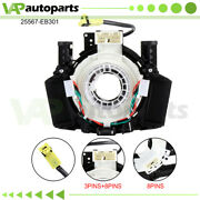 For Nissan Pathfinder Tiida 2007-2012 Spiral Cable Clock Spring 25567-eb301