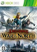 Used Xbox 360 War In The North The Lord Of The Rings 22818 Japan Import