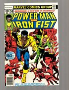 Power Man And Iron Fist 50 Vf/nm Marvel Comic Book Heroes For Hire Key Cage Rb8