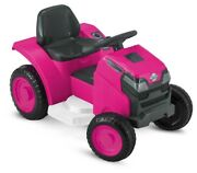 Mow And Go Lawn Mower Toy, 6-volt Ride-on Toy By Kid Trax Ages 18 - 30 Months New