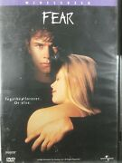 Fear 1998, Widescreen Feat. Mark Wahlberg Dvd Rare And Oop