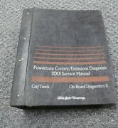 2001 Ford Crown Victoria Powertrain And Emissions Diagnosis Service Repair Manual