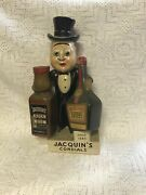Vintage Jacquin's Cordials Back Bar/advertising Figure 15tall