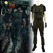 Resident Evil 3 Remake Carlos Oliveira Cosplay Costume All Sizes Full Set Made