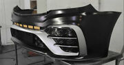 Sprinter W906 2013- Front Bumper Amg Style V2 Abs Plastic Unpainted Mercedes