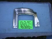 Ford Factory 1963 63 1/2 Galaxie Damaged Drivers Side Rear Quarter Panel C Trim