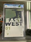 East Of West 1 Cgc 9.8 Cracked Case