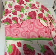 Strawberry Shortcake 2 Pc Fitted And Flat Twin Bed Sheets
