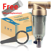 Reusable Whole House Spindown Sediment Filter For Well Water Filter System 200μm