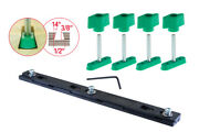 Micro Jig Zeroplay 360 Table Saw Sled Kit Miter Bar Track Attachment Hardware