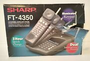 Brand New Cordless Sharp Ft-4350 Home Phone - New - No Battery