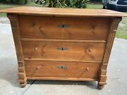 Antique German Chest Of Drawers