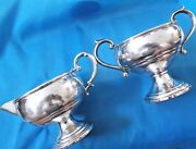 Vintage F.b. Rogers And Arrowsmith Sterling Silver Milk Jug And Sugar Bowl