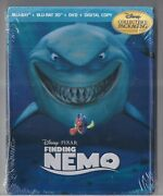 Finding Nemo Collectible Packaging 5 Discs Blu-ray + Blu-ray 3 D + Dvd + Digital
