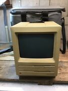 Vintage Macintosh Se Computer Model M5010 W/ Computer Carry Case Untested As Is