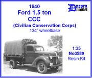 Dnepro Model Dn3589 - 1/35 1940 Ford 15 T Ccc Civilian Conservation Corps