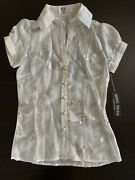 Travis Walker Women's Top For Glamour Campaign Size Small