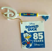 Disney Store Donald Duck 85th Anniversary Limited Edition Collectible Key
